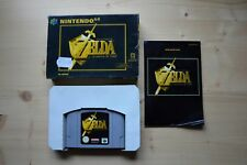 N64 - The Legend of Zelda: Ocarina of Time - (OVP, mit Anleitung)