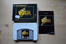 N64-The Legend of Zelda: Ocarina of Time - (scatola originale, con istruzioni)