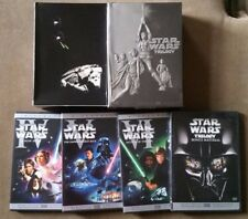 Star Wars Trilogy (DVD, 2004, 4-Disc Set, Widescreen)