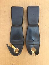 PORSCHE 944 TURBO REAR SEAT BELT BUCKLE RECIEVER SET OF 2 *
