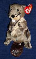 TY Beanie Babies LUMBER JACK Beaver w/Tag 2003
