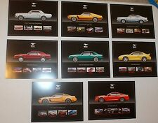 NEW 50TH ANNIVERSARY FORD MUSTANG DEALER HERO CARDS SHELBY MACH 1