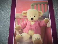 Knitting pattern Teddy Bear and Jacket