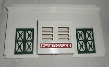 Vintage Plasticville O Scale Union Station Rear Wall