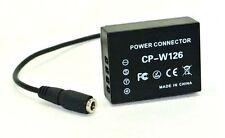 CP-W126 CPW126B DC Coupler for Fuji FujiFilm X-Pro1 HS30EXR HS33EXR HS50EXR
