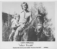 RON ELY/JACK LONDON original movie photo CRY OF THE BLACK WOLVES/WOLF KILLER