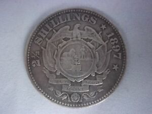 Zuid Afrikaansche Republiek - South African 2 1/2 Shillings 1897