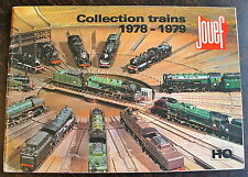 JOUEF, CATALOGUE TRAINS 1978-1979, 66 PAGES.
