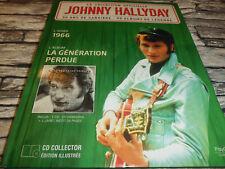 JOHNNY HALLYDAY LA GENERATION PERDUE LA COLLECTION OFFICIELLE 1966  CD + LIVRE