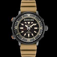 Seiko Urban Safari Series Arnie Solar Tuna Desert Beige Diver's Men's Watch SNJ