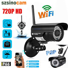 720P HD Bullet Outdoor CCTV Network Wifi IP Camera Security Outdoor Wireless Cam