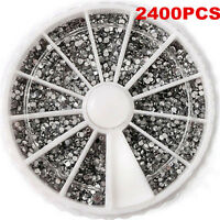 3D Nail Art Rhinestones Glitters Manicure Acrylic Tips Decoration Wheel New Hot