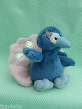 """My Blue Nose Friends N° 087 Peluche PAON *-* FEATHERS THE PEACOCK 4"""" 10 cm"""