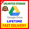 Drive Unlimited Storage for Unlimited Time 100%