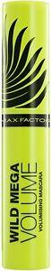 Max Factor Wild Mega Volume Volumising Black Mascara - 11ml