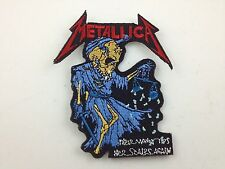 Metallica Embroidered Patch ~ SKELETON