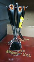 7 Piece Stainless Steel Kitchen Cooking Tool Utensil Set Spoon With Holder New