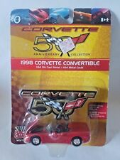 Racing Champions 50th Anniversary Corvette Collection 1998 Convertible 1:64