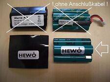 WELLA Xpert hs70 Batteria di ricambio 3,6v NiMH specializzato-batteria 1535045 Tondeo ECO XP