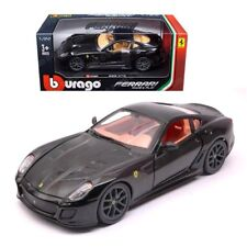 Bburago 1:24 Ferrari Race & Play Ferrari 599 GTO Diecast Car 26019 Black