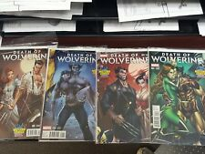 Death Of Wolverine 1 2 3 4 Midtown J Scott Campbell Variant Connecting Set