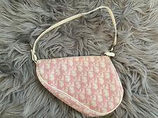 Authentic Christian Dior Trotter Saddle Bag