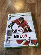 NHL 09 Xbox 360 Cib Game Works Broken Case VC9