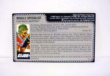 Figuras de acción de militares y aventuras Hasbro sin embalaje del año 1985