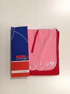 """FLEXA RED PLAY CURTAIN DOOR NIB FLEXA #738034 30""""1/4 X 38""""1/4 INCH WINDOW & DOOR"""