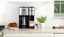 Cuisinart 12-Cup Stainless Coffeemaker and Single-Serve Brewer K-Cup Compatible