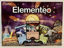 Elementeo Chemistry Card Learning Board Game Science Alchemy Elements New(other)