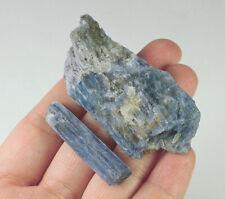 164.7Ct Natural Brazilian Blue Kyanite Crystal Facet Rough Specimen YKNd860