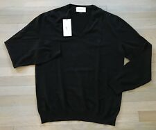 24531db1761 Gucci Black Wool V Neck Sweater Size XXL Made in Italy
