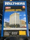 HO Scale Walthers Cornerstone 933-3764 Ashmore Hotel Building Kit Open Box