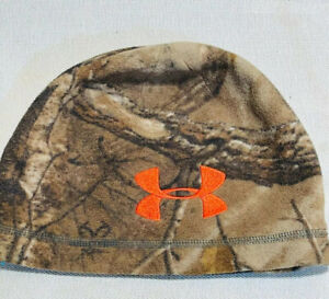 Under Armour Reversible Realtree Camo Beanie Coldgear Camouflage Hunt Real Tree