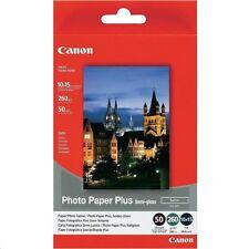 Canon SG-201 (10cm x 15cm) 260g/m2 Satin Finish Semi-Gloss Plus Photo Paper