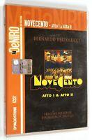 DVD NOVECENTO ATTO I & II Versione Integrale Restaurata 1-2 1976 Robert De Niro