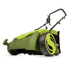 Walk Behind Corded Electric Lawn Dethatcher Collection Bag 13 inch 12Amp Outdoor