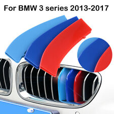 For BMW 3 Series F30 F31 13-17 M-Sport 11 Bar Grille 3 Color Cover Clip Stripes