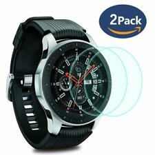 (2 PACK) For Samsung Galaxy Gear S3 Classic Glass Screen Protector Shield