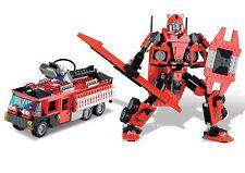 Megalosaurus Super Heroes Superior 10 in 1 BricTek Building Block Toy 18012