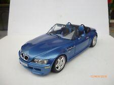 1:18 BURAGO BMW M3 ROADSTER CABRIOLET IN BLUE STRIPE INTERIOR RARE!!
