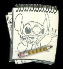 DSSH DSF Stitch Sketch Pad Series Disney Pin