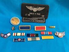 Civil Air Patrol -Assortment Of Miscellaneous Civil Air Patrol and Military pins