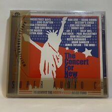Concert for New York 2-Disc - Super Audio CD SACD Multichannel Bowie McCartney