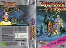 DEFENDERS OF THE EARTH  Kalter Krieg  VHS Rarität