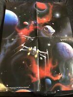 Star Wars INSIDER Official LUCASFILM FAN CLUB Vintage  Poster Original