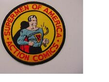 """set of 3 Supermen of America PATCH EMBROIDERED -IRON ON PATCH- SUPERMAN 3.5"""""""