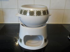 Noritake Progression 9009 Soup bowl and  warmer. Japan Arabesque 9009