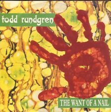 3inch TODD RUNDGREN - The Want of a Nail Mini-CDS,Sehr Rar GERMANY 1989 WEA